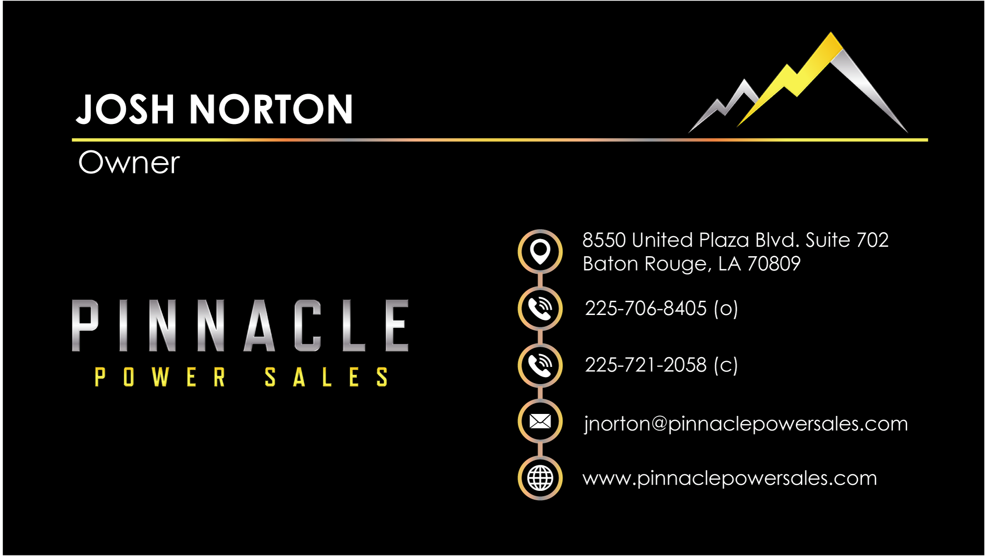 the pinnacle difference – pinnacle power sales